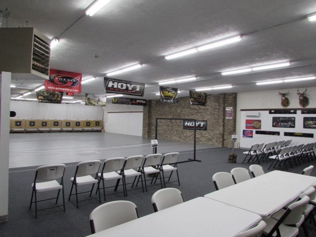 Visit Our Indoor Archery Range